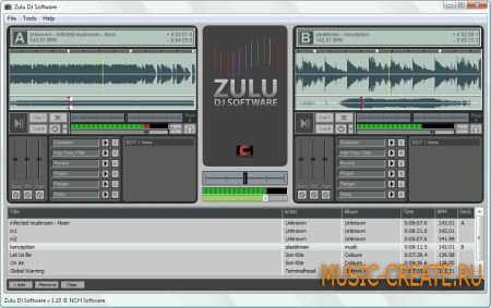 NCH Zulu Masters Edition v2.36 (TEAM LAXiTY) - инструмент dj