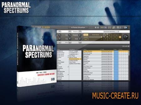 Native Instruments - KORE Line: Paranormal Spectrums (Kore Soundpack) - библиотека синтезаторных звуков (TEAM AUDiOL3GiON)