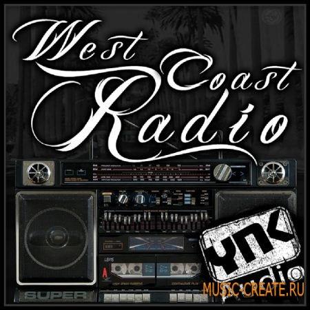 YnK Audio - West Coast Radio (WAV REX MIDI) - сэмплы Hip Hop, West Coast