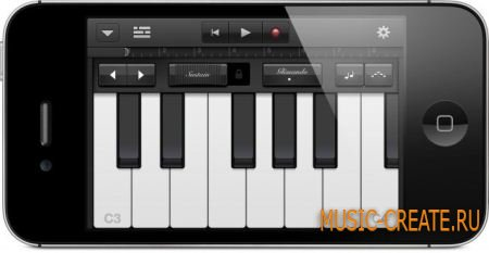 Apple Garageband v1.1 iPad iPhone iPod Touch
