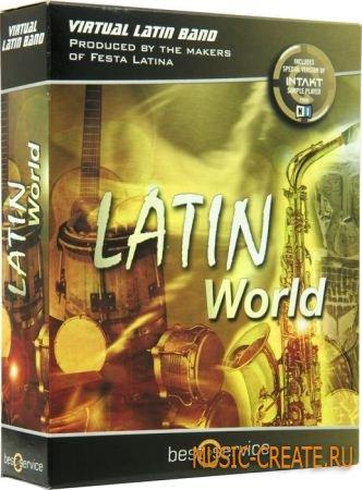 Best Service - Latin World (VSTi DXi RTAS AU HYBRiD DVDR -DYNAMiCS PC/MAC) - звуки латинских инструментов