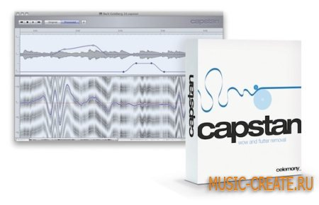 Celemony Capstan v1.3.0.4 WiN64 / v1.1.0.3 MacOSX (TEAM R2R) - реставрация аудиозаписей