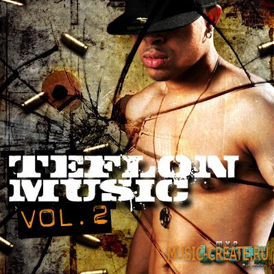 MVP Loops - Teflon Music Vol 2 (WAV ACID REX AIFF) - сэмплы Dirty South