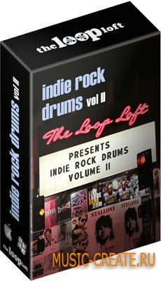 The Loop Loft Indie Rock Drums Vol 2 (Wav) - сэмплы Rock