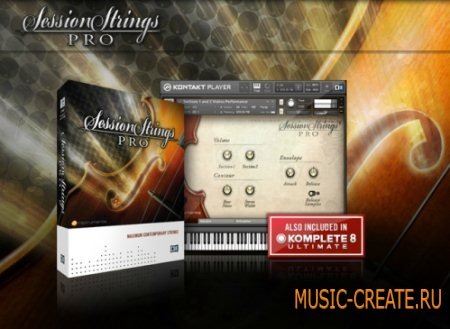 Native Instruments Session Strings Pro KONTAKT DVDR (TEAM DYNAMiCS) - библиотека струнных