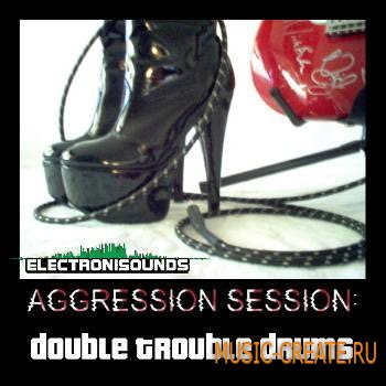 ElectroniSounds - Aggression Session Double Trouble Drums (WAV) - сэмплы Trip Hop, Breaks, Jungle, IDM, DnB, Tekno, Acid, Chemical