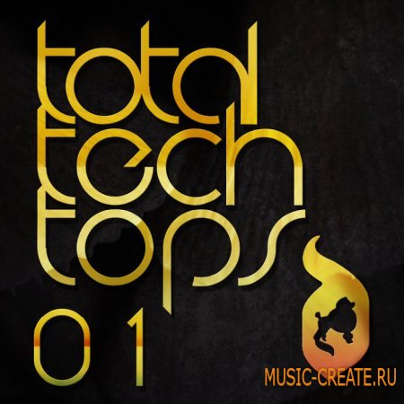 Delectable Records - Total Tech Tops 01 (Wav Rex2) - сэмплы Minimal / Tech House
