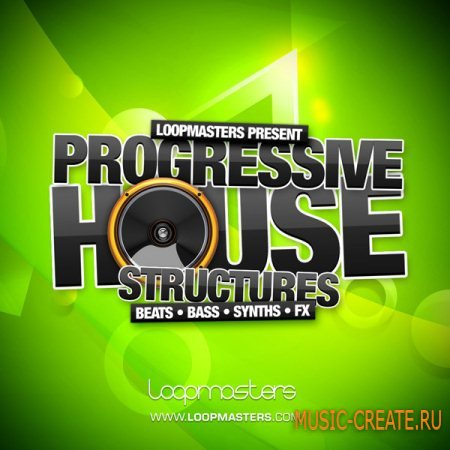 Loopmasters - Progressive House Structures (Multiformat) - сэмплы Progressive House