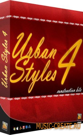 R-loops - Urban Styles 4 (Wav Midi Rex Refill Aiff) - сэмплы RnB, Dirty South, Pop, Hip Hop