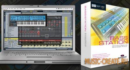 Novation Bass Station v2.2 WiN/MAC (TEAM R2R) - синтезатор аналоговый