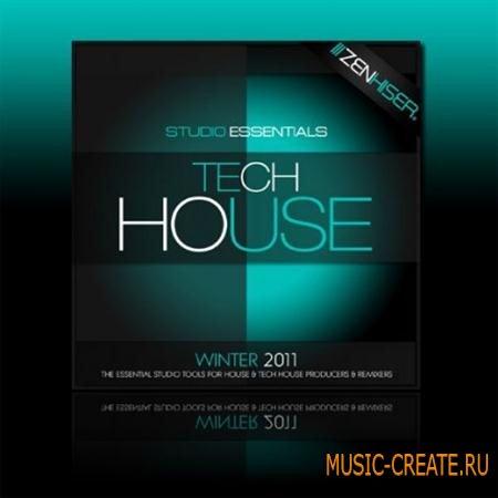 Zenhiser - Studio Essentials - Tech House (WAV) - сэмплы Tech House, Deep House, Minimal Tech