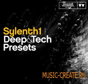Waveform Recordings - Sylenth1 Deep & Tech Presets - пресеты для Sylenth1