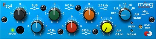 Plugin Alliance - Maag EQ4 VST VST3 RTAS AAX v1.0 x86 x64 (ST3REO) - плагин эквалайзер