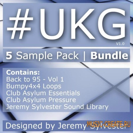 Producer Pack #UKG Bundle - 5 Best Sellers IN ONE (Wav Rex2 Aiff) - сэмплы 2 Step Garage