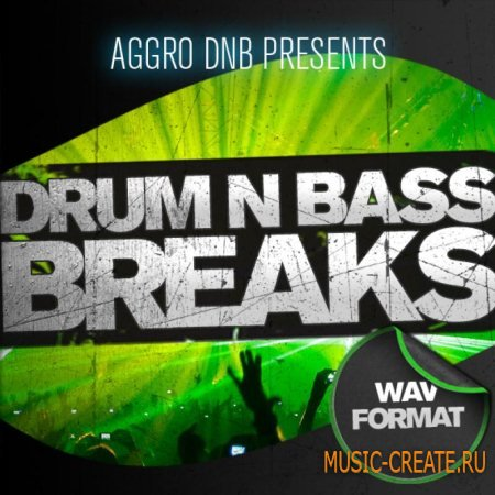 Aggro Samples - Aggro Presents - Drum and Bass Breaks (Wav) - сэмплы Drum and Bass, Breaks