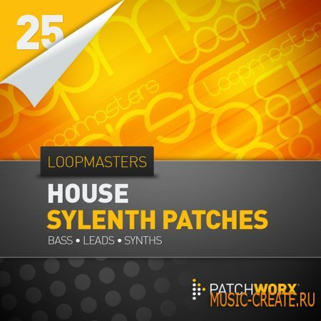 Loopmasters Presents House Synths - Sylenth Presets (MIDI & Synth Presets)