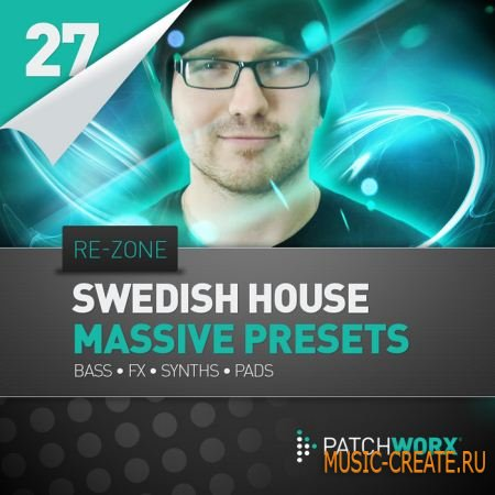 Loopmasters - Re-Zone Swedish House Synths Massive Presets (MIDI / Massive пресеты)