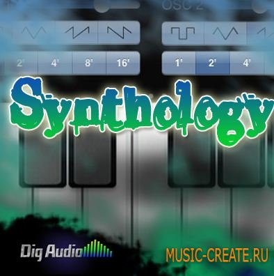 Digg Audio - Synthology (MULTiFORMAT) - сэмплы RnB, Soul, Pop, Hip Hop