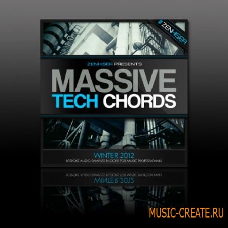 Zenhiser - Massive Tech Chords (WAV Synth Presets) - пресеты Massive