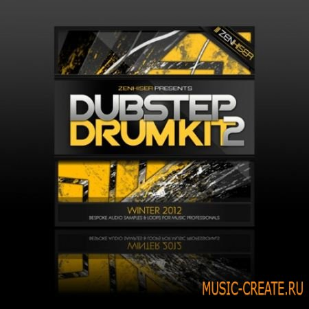 Zenhiser - The Dubstep Drum Kit 02 (WAV) - сэмплы Dubstep