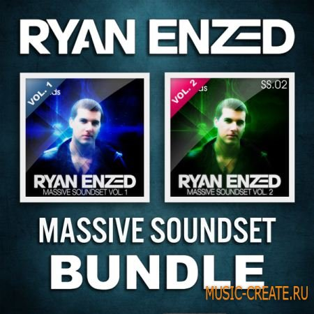 Ryan Enzed - Massive Soundset Bundle - пресеты Massive