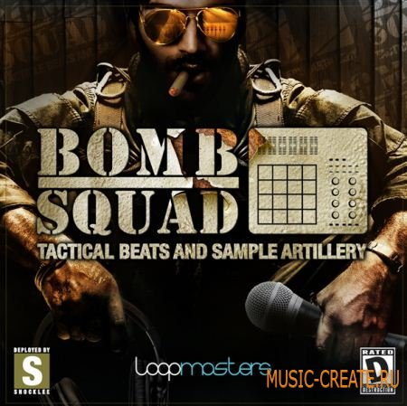 Loopmasters - Bomb Squad Tactical Beats & Sample Artillery (MULTIFORMAT) - сэмплы Hip Hop