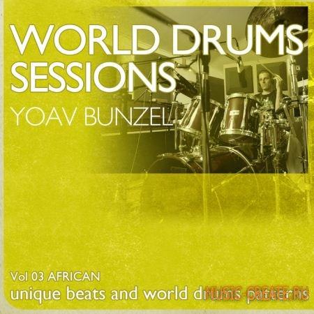 Earth Moments - World Drum Sessions Vol 3 - African (WAV REX) - сэмплы африканских ударных