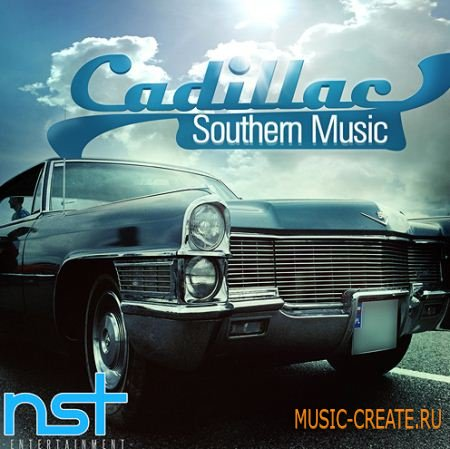 Nst Entertainment - Cadillac Southern Music (WAV MIDI FLP) - сэмплы Dirty South