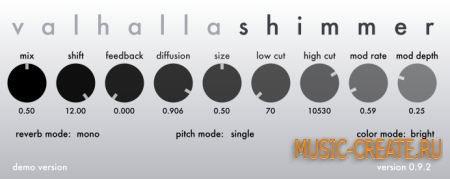 ValhallaDSP - ValhallaShimmer v1.0.3.4 WIN / OSX (Team R2R) - плагин реверберации