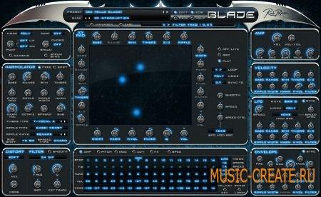 Rob Papen - Blade v1.0.3b (TEAM R2R) - аддитивный синтезатор