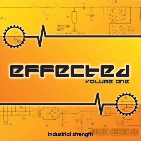 Industrial Strength Records - Effected Vol 1 (Multiformat) - звуковые эффекты