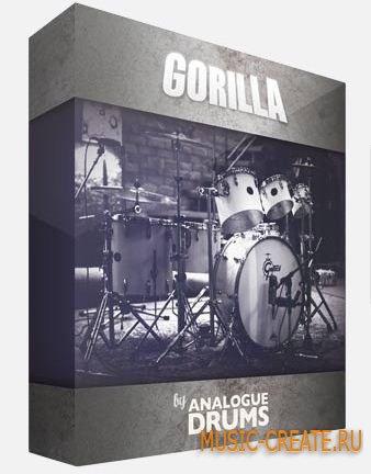 Analogue Drums - Gorilla (KONTAKT WAV) - библиотека ударных