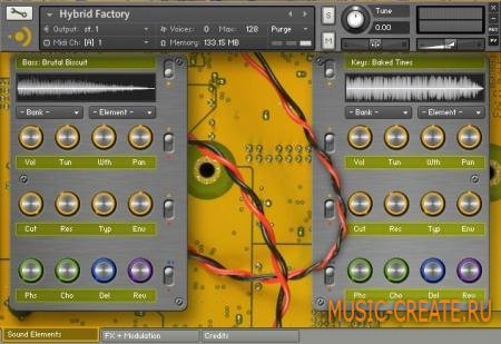 Precisionsound - Hybrid Factory (KONTAKT) - библиотека синтезаторных звуков