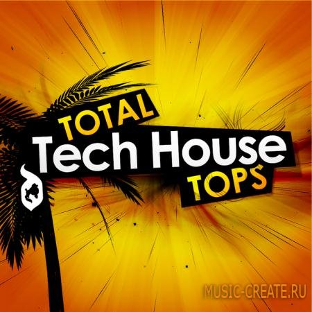 Delectable Records - Total Tech House Tops (WAV AIFF) - сэмплы Tech House
