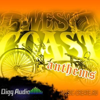 Digg Audio - West Coast Anthems (WAV REX AIFF) - сэмплы Hip Hop, West Coast