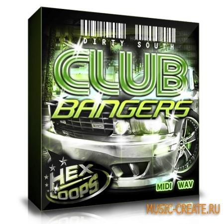 Hexloops - Dirty South Club Bangers (WAV MIDI) - сэмплы Dirty South, Hip-Hop, Rap, Club, Urban