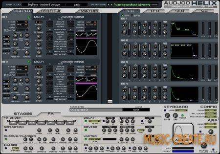 Audjoo - Helix v2014.12.13 WIN / MacOSX (TEAM R2R) - гибридный синтезатор