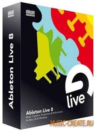 Ableton - Live v8.3 + Max4Live + Crack (WIN) - секвенсор  / виртуальная студия