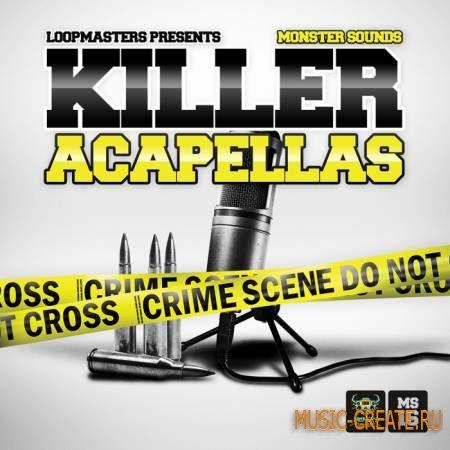 Monster Sounds - Killer Acapellas (WAV REX2) - вокальные сэмплы