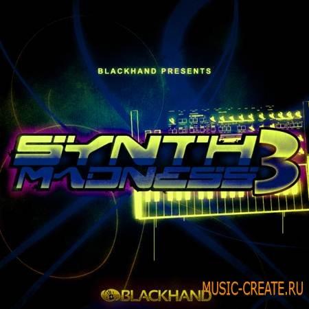 Black Hand Loops - Synth Madness 3 (WAV REX AIFF) - сэмплы Hip Hop, R&B, Modern Pop