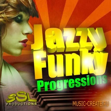 SSL Productions - Jazzy Funky Progressions (WAV MIDI) - сэмплы Nu Jazz, Nu Soul