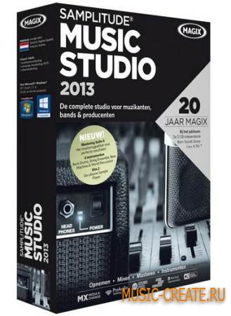 MAGIX - Samplitude Music Studio 2013 v19.0.1.18 (TEAM EQUiNOX) - виртуальная музыкальная студия