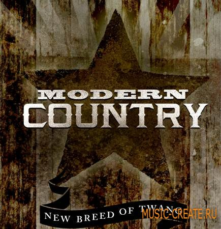 Big Fish Audio - Modern Country (WAV REX AiFF) - сэмплы Modern Country