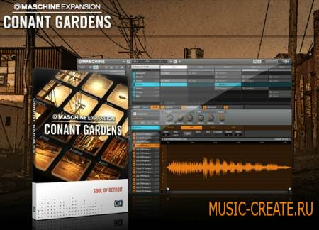 Native Instruments - Conant Gardens (Maschine Expansion) (TEAM R2R)
