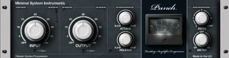 Minimal System Instruments - Punch Compressor 3 VST v3.0 (TEAM ST3RE0) - плагин компрессии