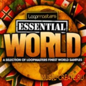 Loopmasters - Essentials 15 World (WAV) - сэмплы World, Ambient, Chill, Soundtrack, Cinematic