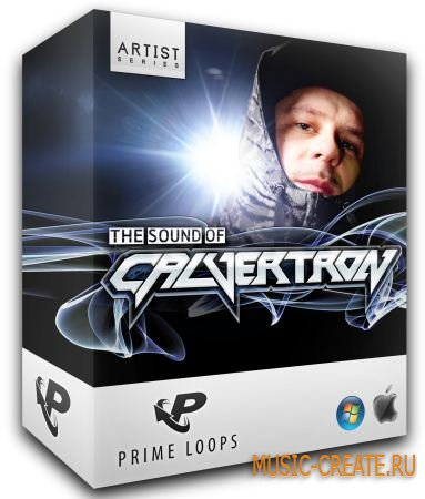 Prime Loops - The Sound Of Calvertron (WAV REX AiFF) - сэмплы Dubstep