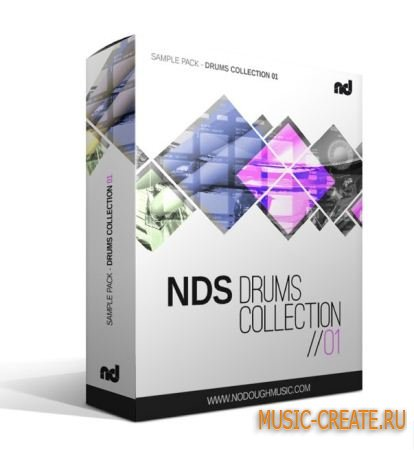 No Dough Samples - NDS Drum Collection 001 (MULTiFORMAT) - драм сэмплы