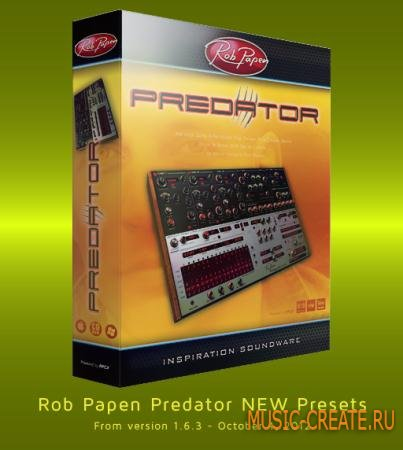 Rob Papen NEW Presets - October 4, 2012