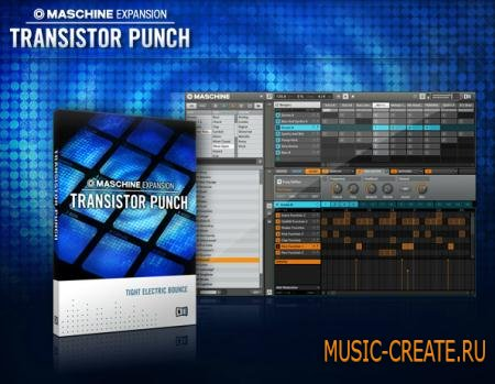 Native Instruments - Transistor Punch Maschine Expansion (TEAM R2R)